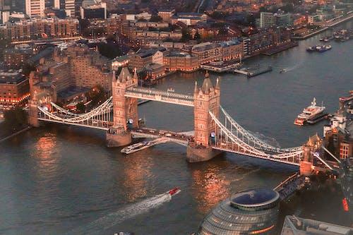 White Bridge over River