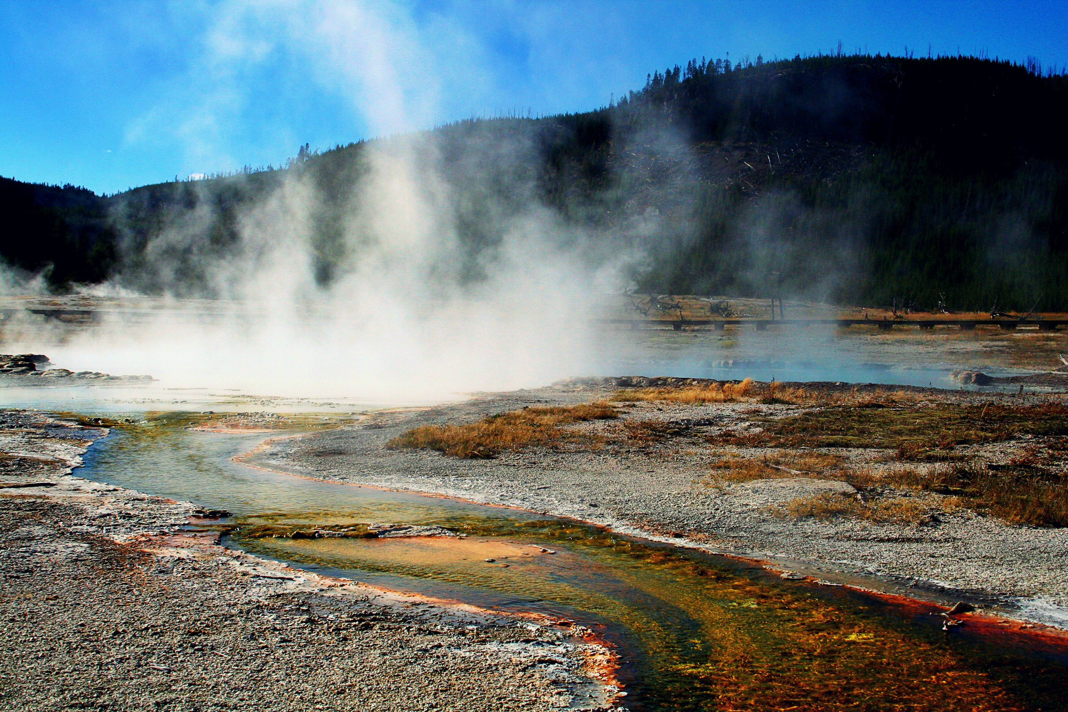 boiling liquid, condensation, geology