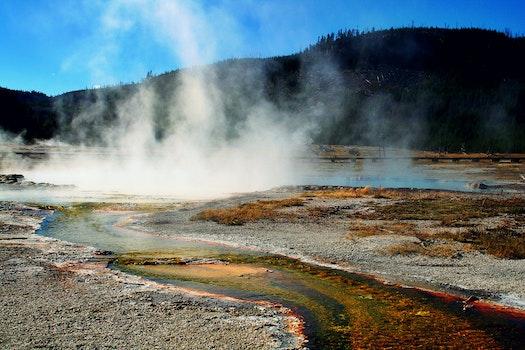 Free stock photo of water, mist, hot, smoke