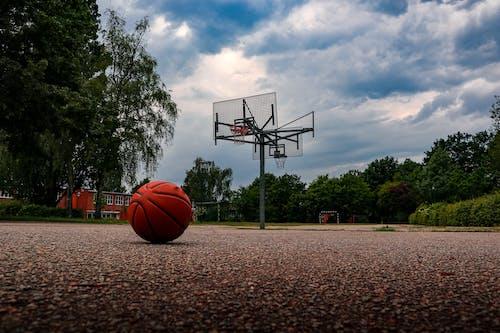 Free stock photo of ball, basketball, basketball basket, blue sky