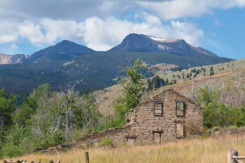 Immagine gratuita di abbandonato, montagne, Montana, scenico