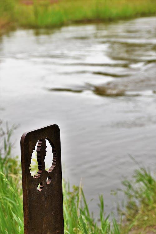 Immagine gratuita di acqua, impronta, metallo, zoccolo