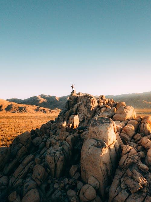 Immagine gratuita di acqua, alba, arido, avventura