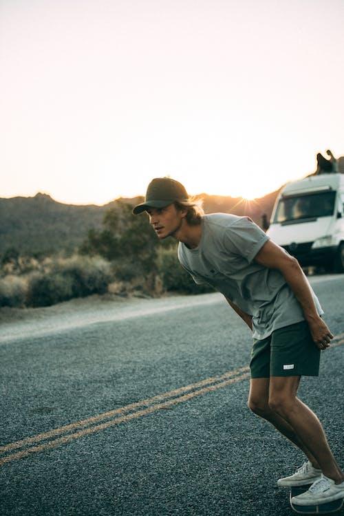 Immagine gratuita di adulto, azione, california, deserto