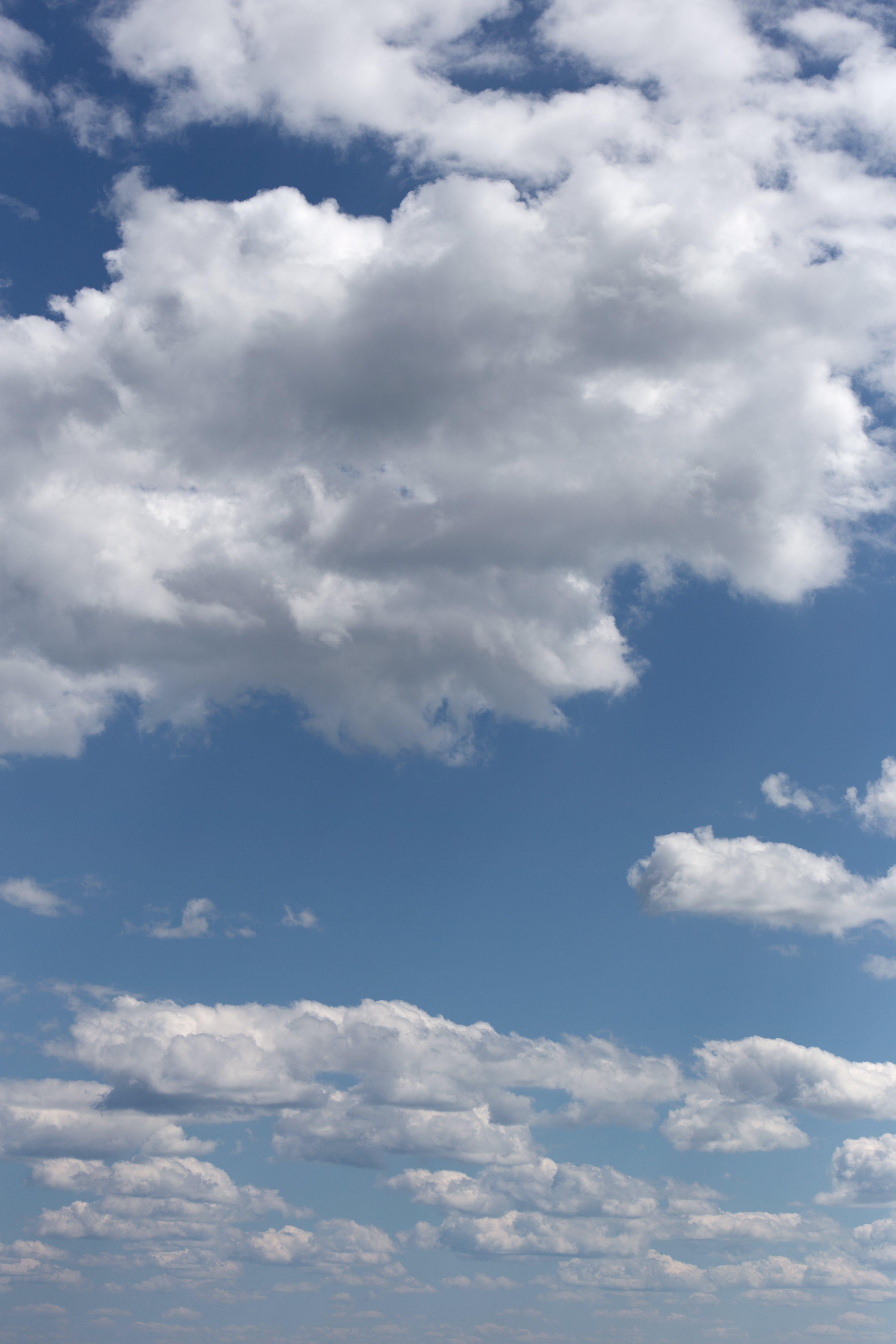 Foto stok gratis awan, biru, cahaya, cuaca