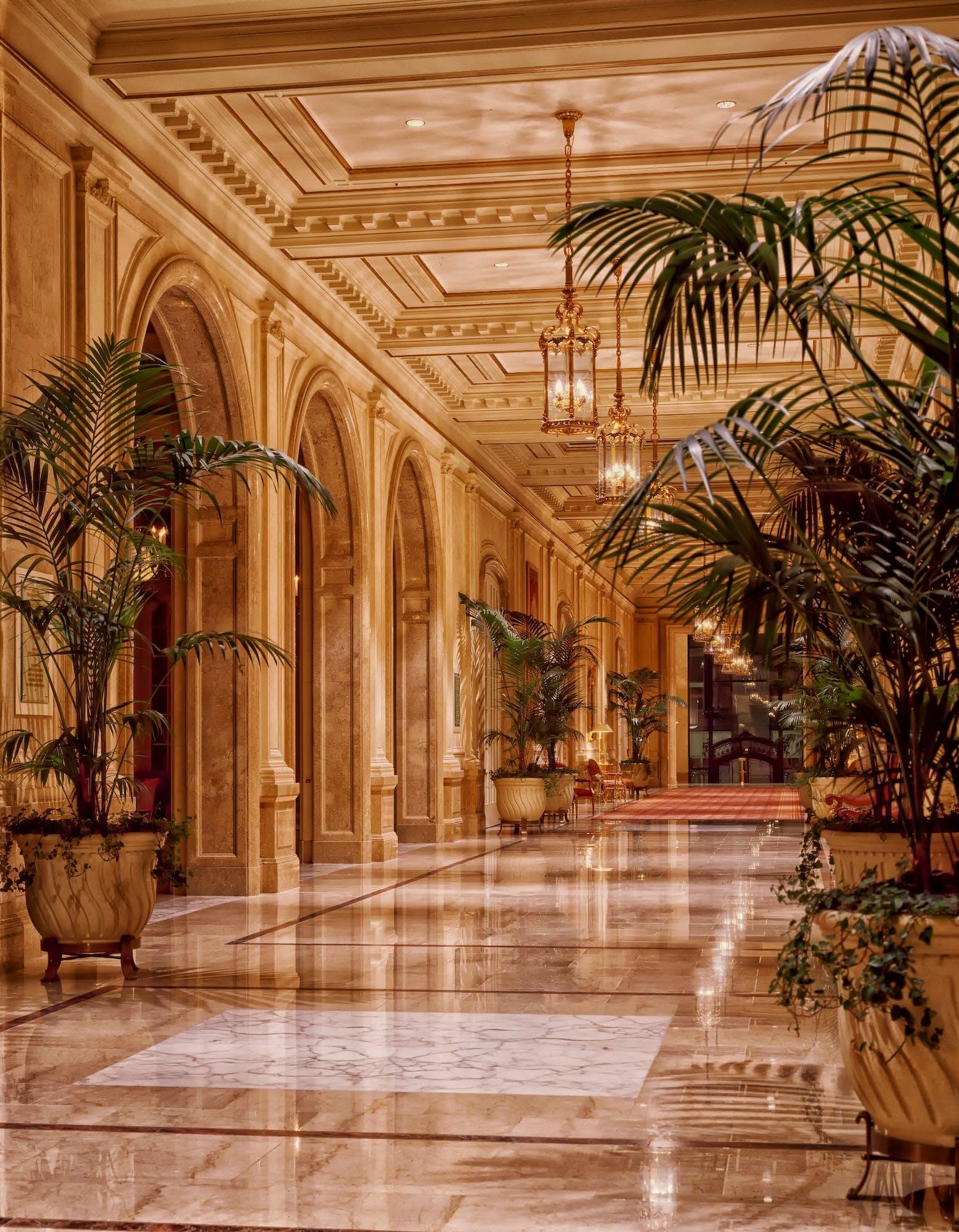 Brown Hotel Interior