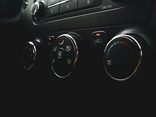 Black Car Instrument Panel Cluster