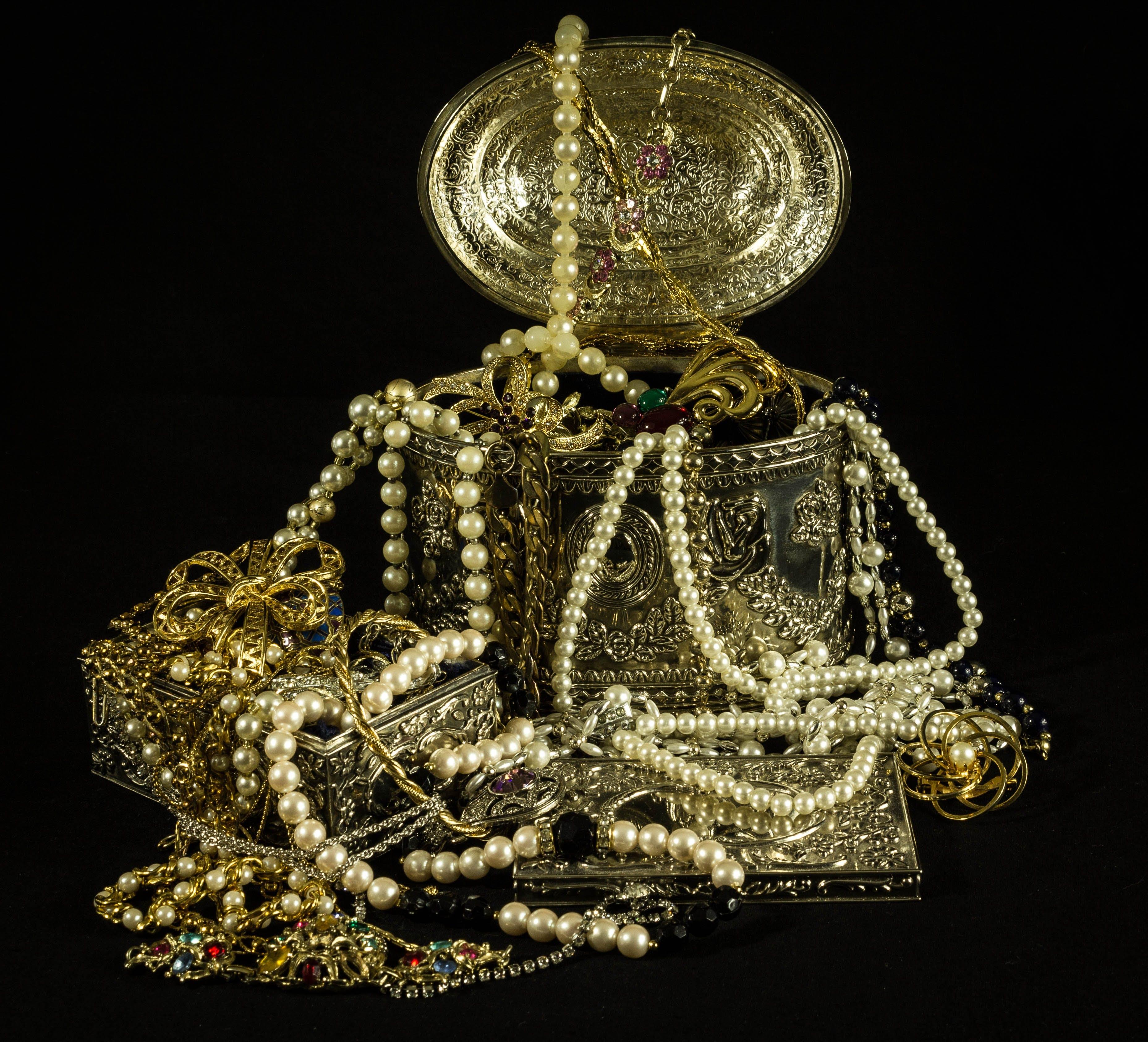 Foto d'estoc gratuïta de arca, bijuteria, collaret, col·lecció