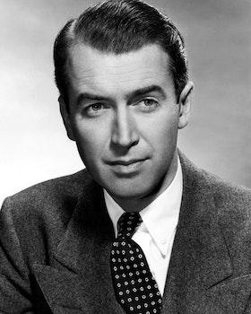 Man in Suit Jacket Grayscale Portrait