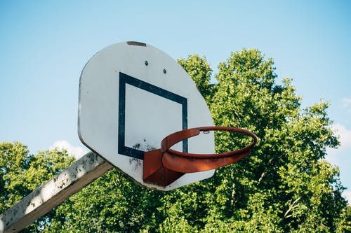 A Basketball Hoop Without a Net