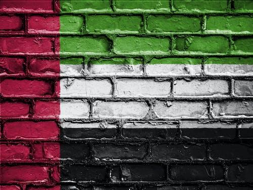 Gratis arkivbilde med de forente arabiske emirater, emblem, land, murstein