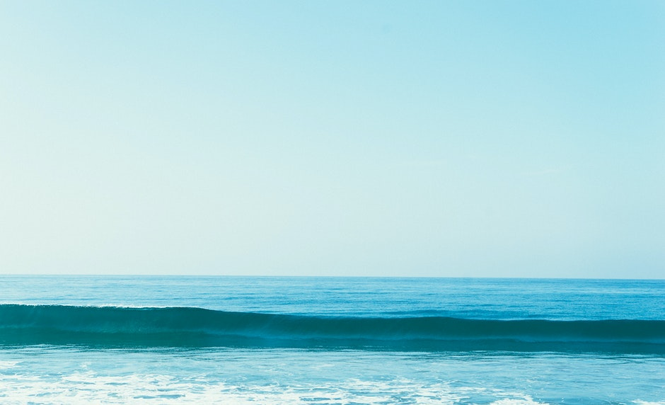 nature, ocean, sea