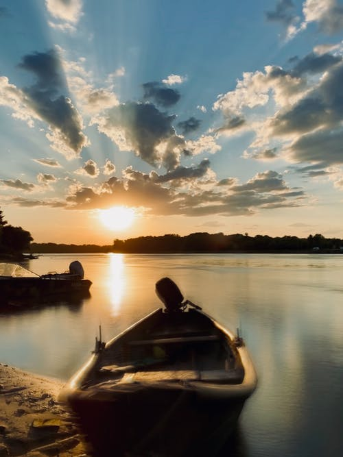 Free stock photo of aesthetic, beach sunset, beautiful sunset