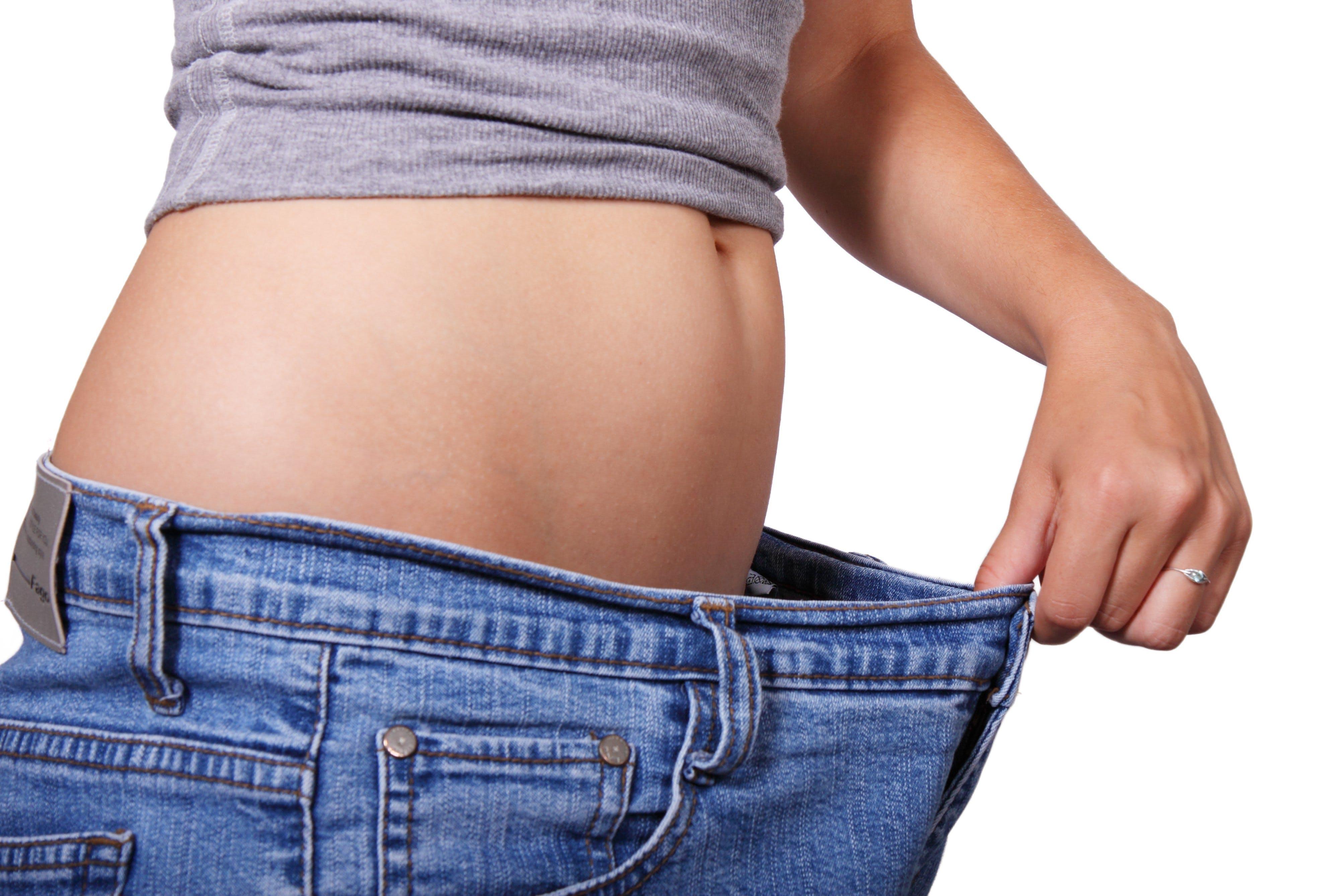 cintura, cos, dieta