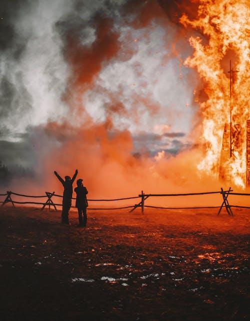 Ingyenes stockfotó csapás, égő fa, égő láng, égő tűz témában