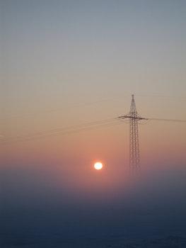Free stock photo of sunset, sun, sunrise, fog