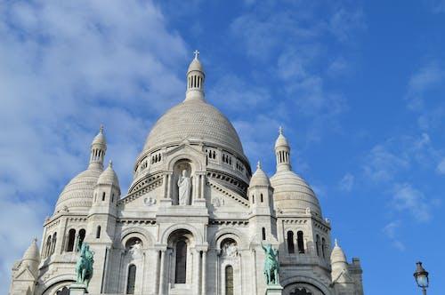 Gratis lagerfoto af arkitektur, basilika i det hellige hjerte, bygning, himmel