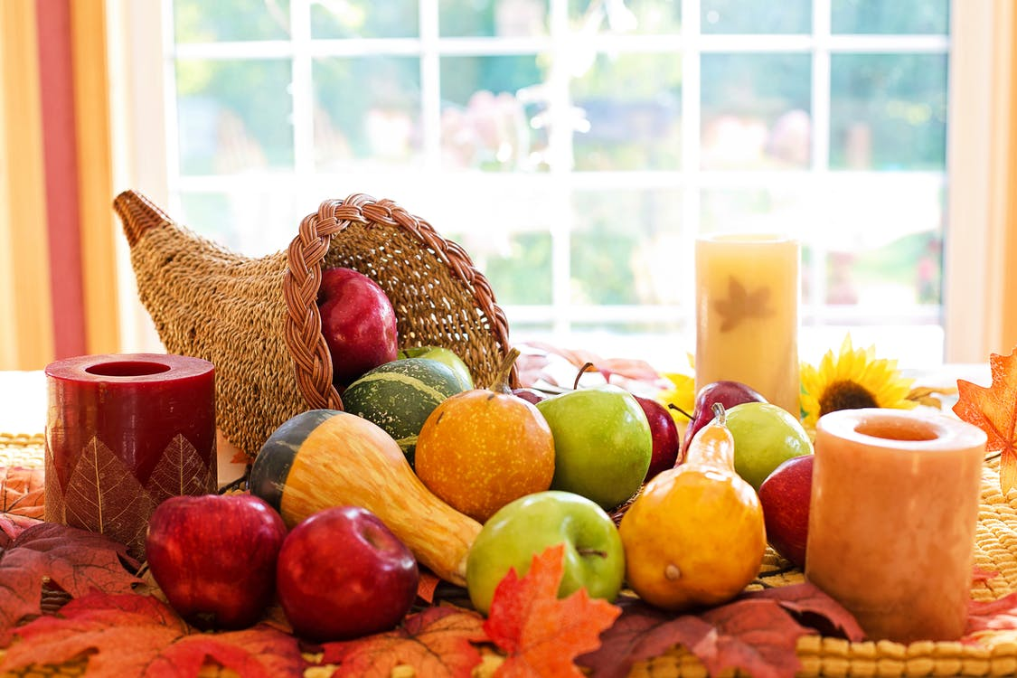 Fruits on Brown Woven Basket