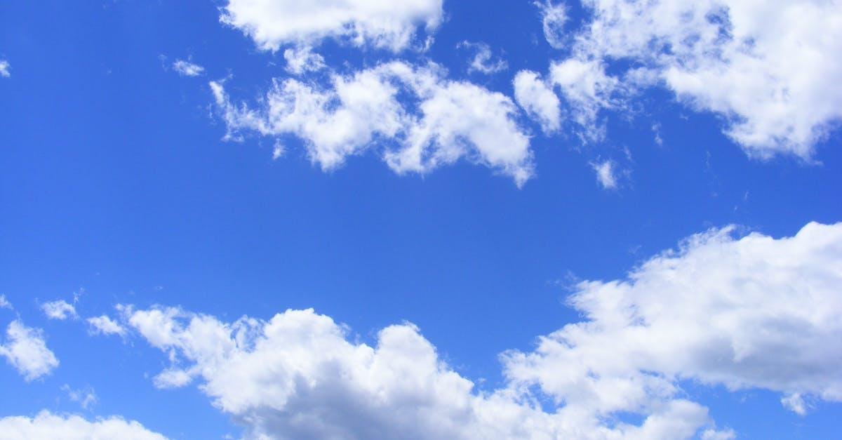 Langit Biru · Foto Stok Gratis
