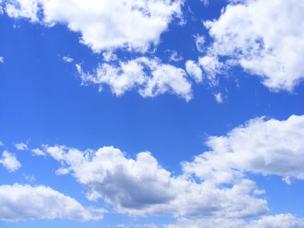 albastru, cer, natură