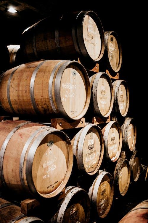 Foto profissional grátis de adega, álcool, Antiguidade, barril