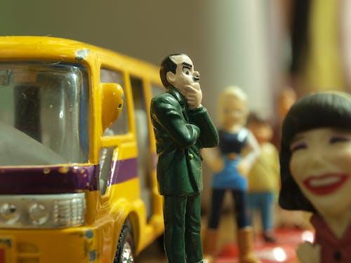 Безкоштовне стокове фото на тему «автобус, великий план, іграшки, мініатюрний»