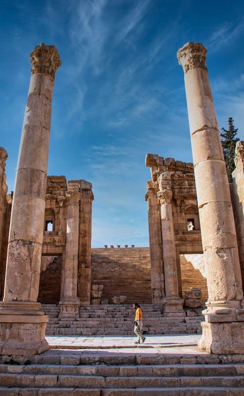 Ruins of Ancient Temple in Jordan