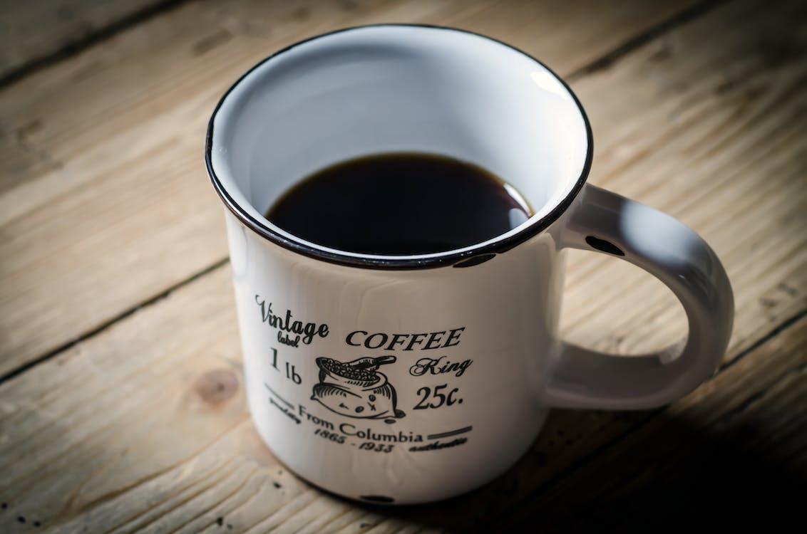 カップ, カフェイン, コーヒー