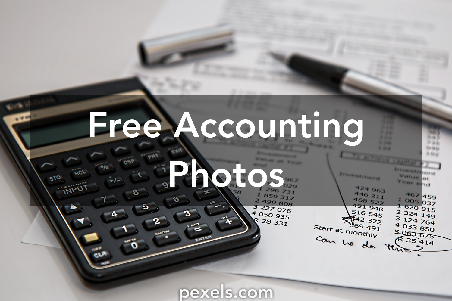 Free stock photos of accounting · Pexels