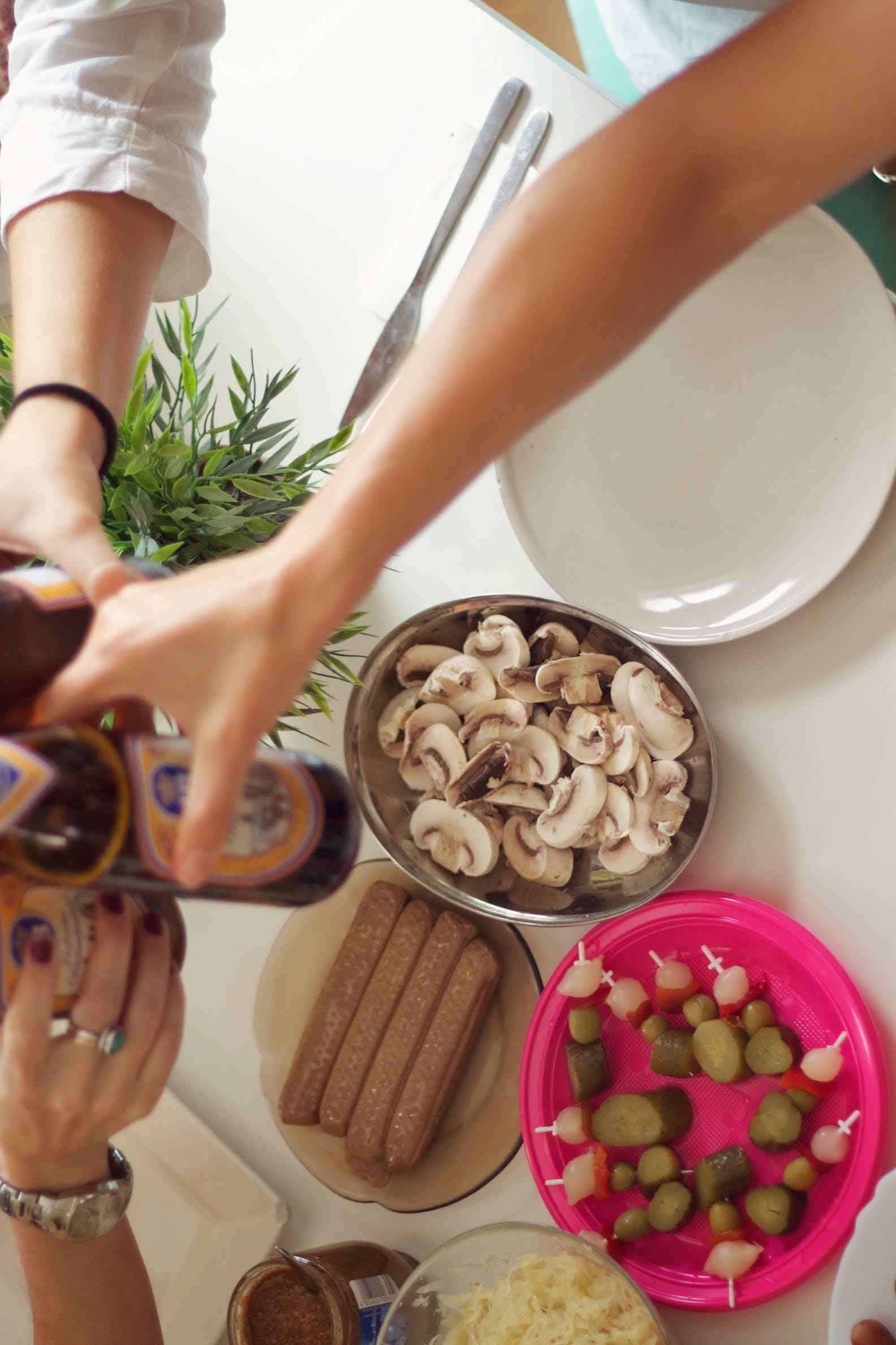 Ingyenes stockfotó ebéd, élelmiszer, gombák, német témában