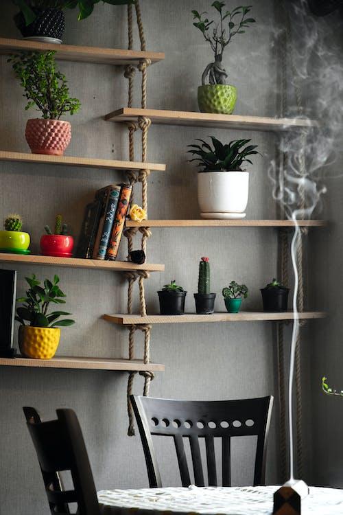 Základová fotografie zdarma na téma barvy, design interiéru, doma, dřevo