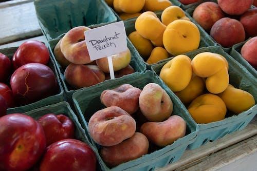 Photos gratuites de agbiopix, agriculture, donut de pêssego, marché