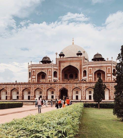 The Humayun's Tomb in New Delhi India