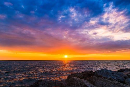 Ảnh lưu trữ miễn phí về biển, bình dị, chân trời, chạng vạng