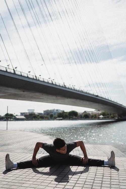 Copyspace, 人, 伸展, 健康 的 免費圖庫相片