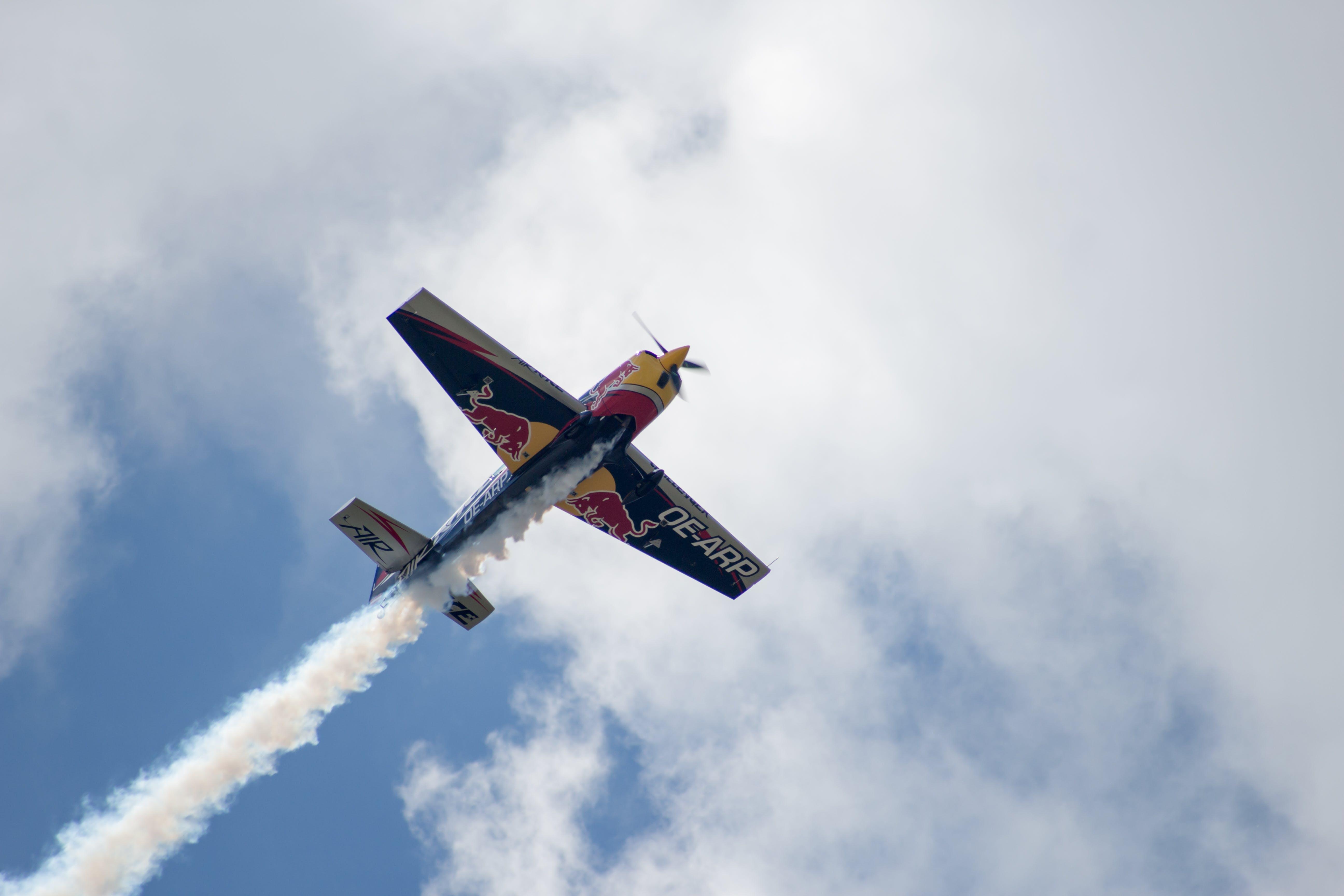 Free stock photo of aeroplane, air, air race, cloud