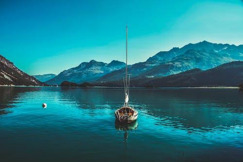 Immagine gratuita di acqua, alba, barca, estate