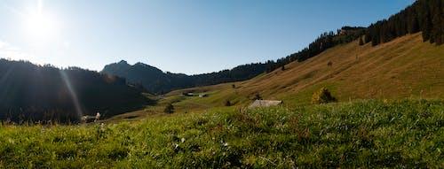 Free stock photo of alps, blue skies, early sunrise, morning sky
