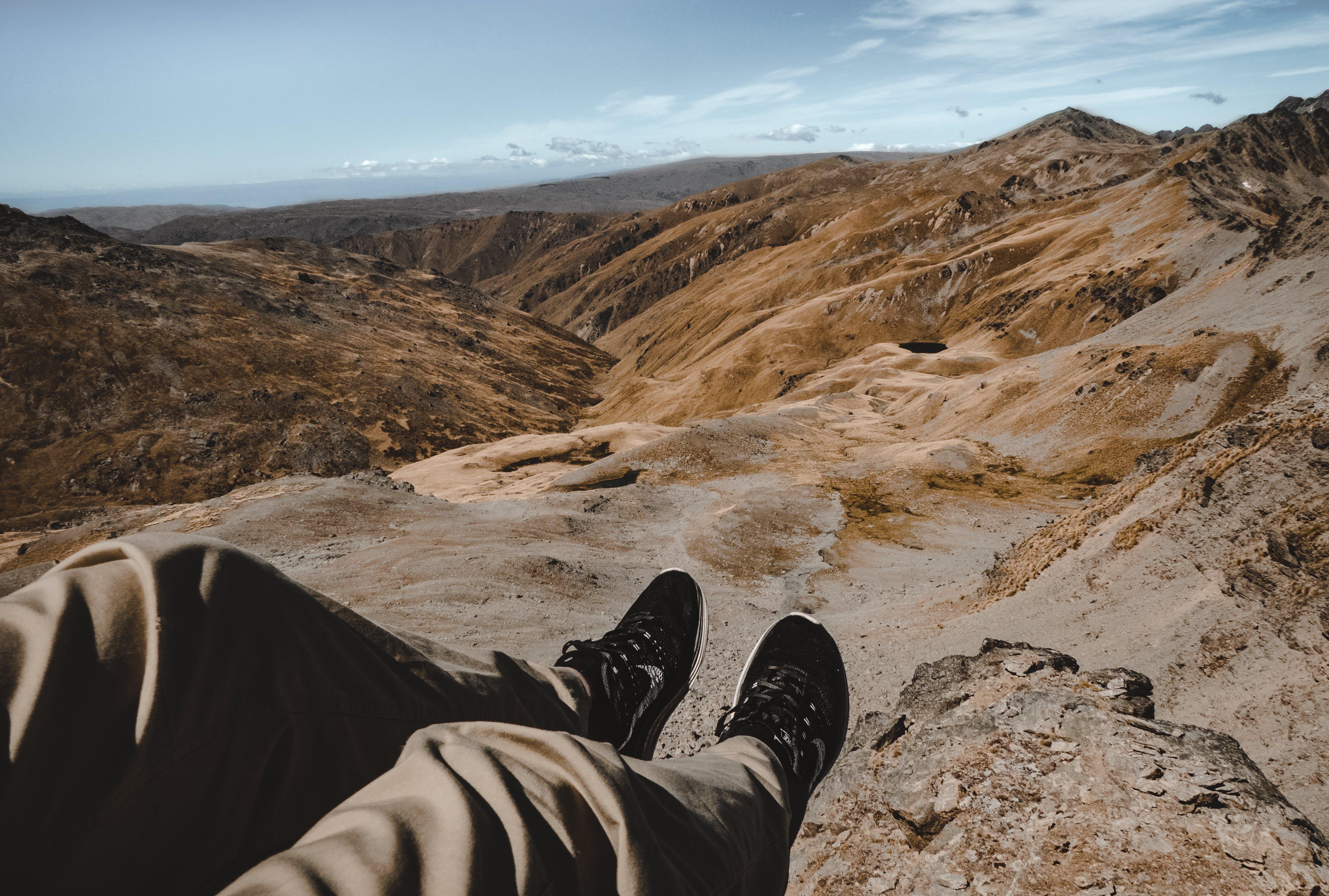 のどか, ズボン, 山岳, 日光の無料の写真素材