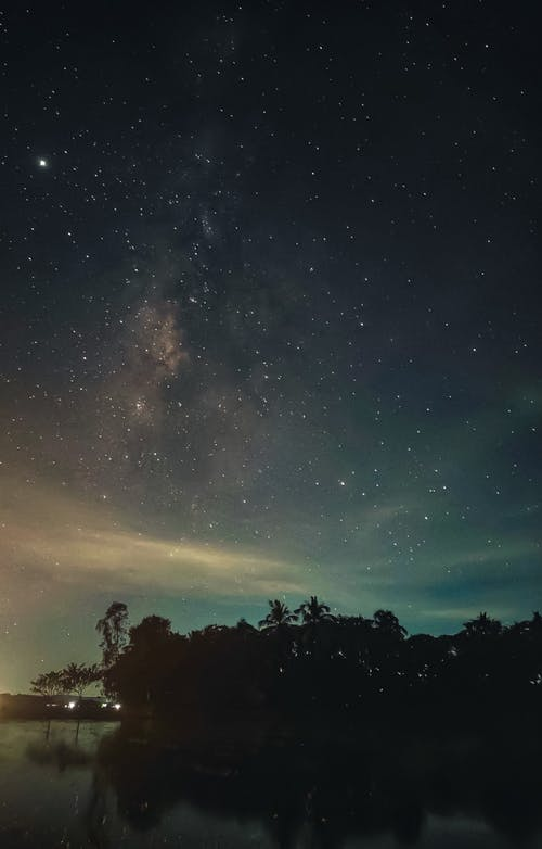 Free stock photo of android wallpaper, astrophotography, bright stars, galaxy