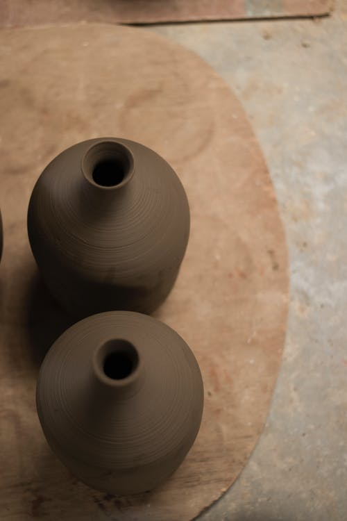 Free stock photo of brown, clay, clay pot, clay pots
