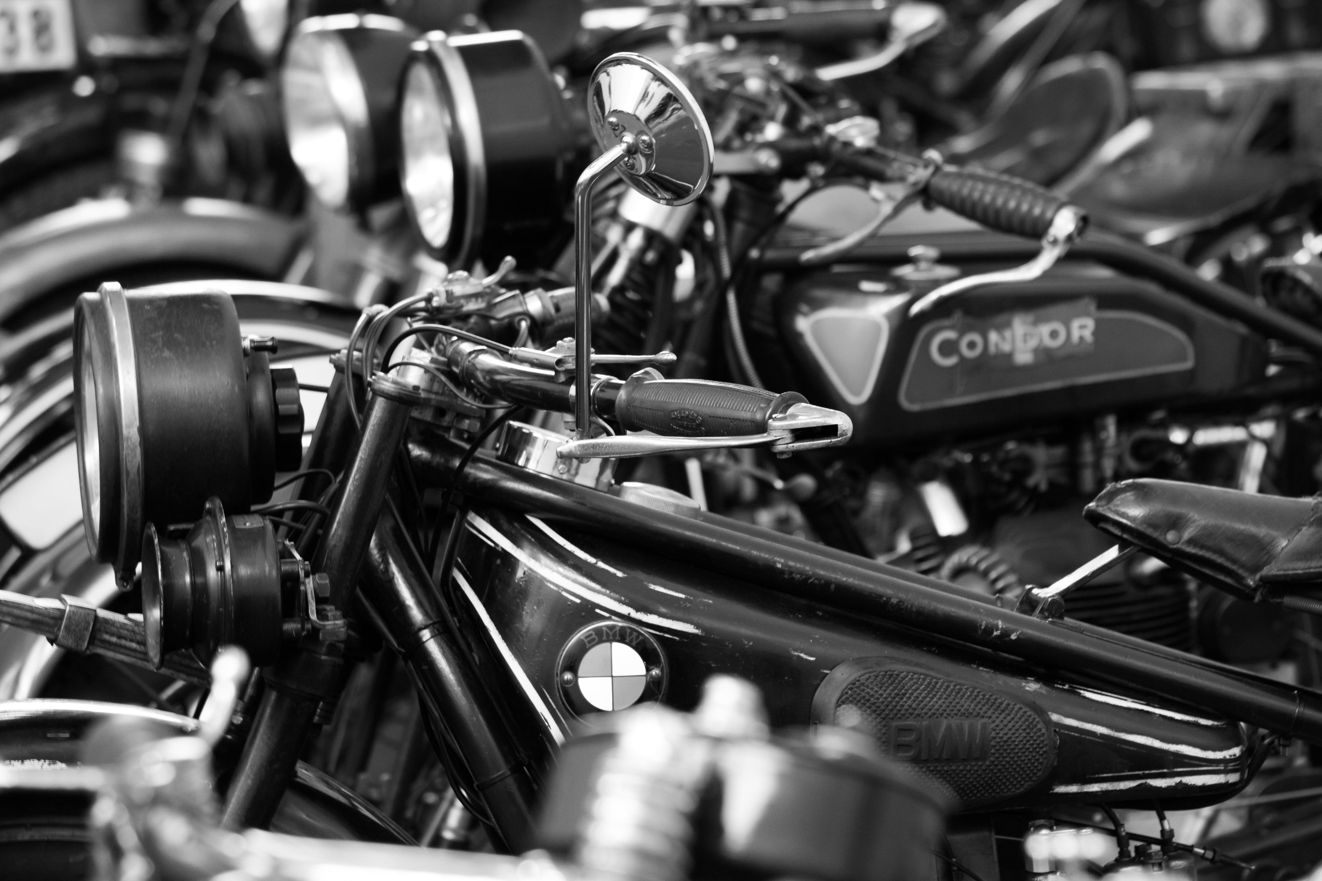 Free stock photo of bikes, BMW, old, veteran