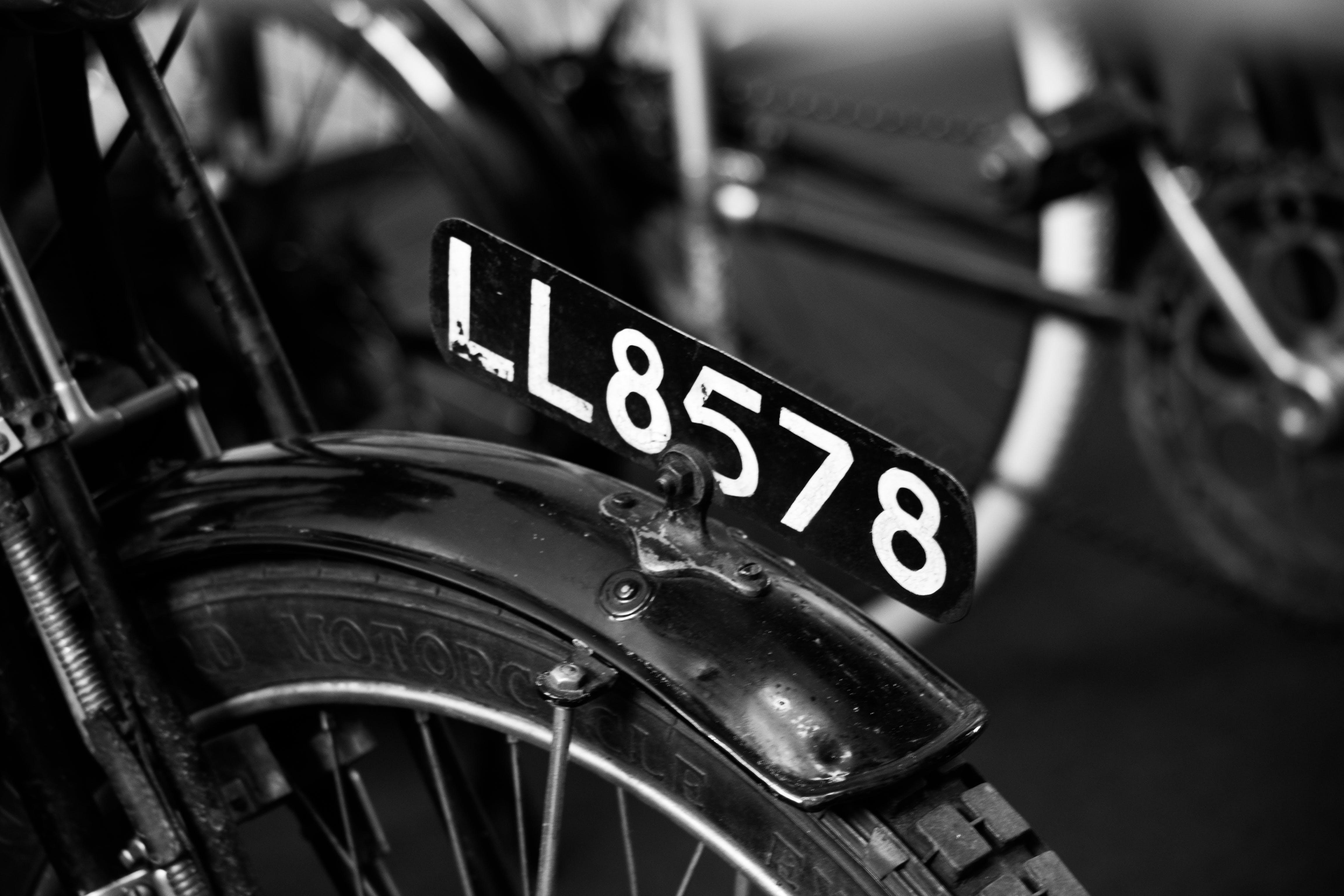 Free stock photo of vintage, bikes, old, BMW