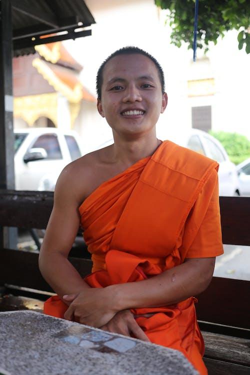 Free stock photo of buddhist, monk