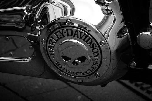 Foto profissional grátis de davidson, harley, moto, retrô