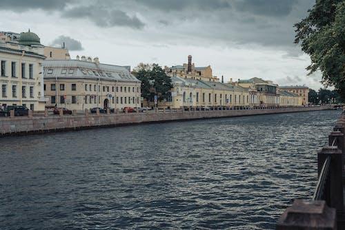 Kostnadsfri bild av arkitektur, båt, bro, byggnad