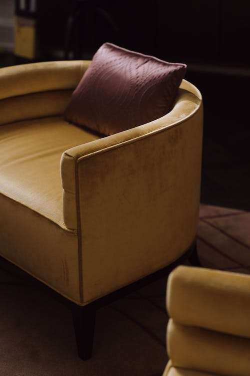 Cushion Couch on Floor