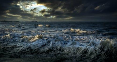 Kostenloses Stock Foto zu bewölkt, dramatisch, dunkle wolken