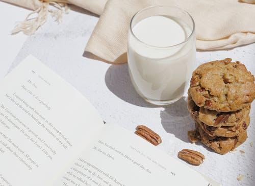 Бесплатное стоковое фото с foodphotography, белый, бумага