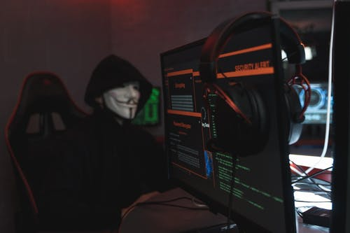 hackeamento de sistema, ウイルス, ガイフォークスマスクの無料の写真素材